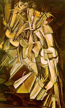 Marcel Duchamp - Nude Descending a Staircase, No 2