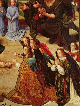 Hugo van der Goes - Portinari Altarpiece (detail)