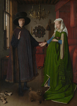 Jan van Eyck - The Arnolfini Wedding