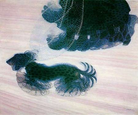 Giacomo Balla - Dynamism of a Dog on a Leash - 1912