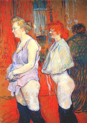 Toulouse Lautrec - Rue des Moulins, The Medical Inspection - 1894
