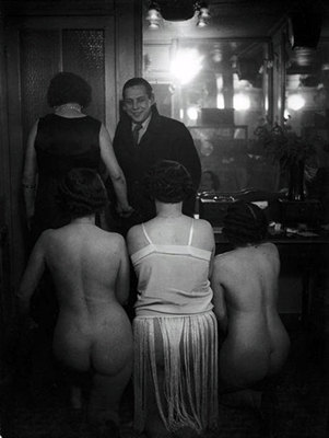Brassai - Chez Suzy, the Presentation (1932)
