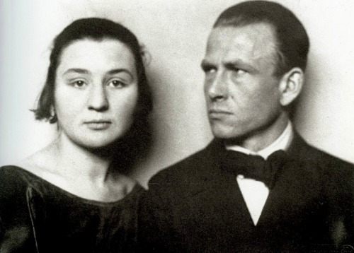 Hugo Erfurth - Martha Koch and Otto Dix - 1922