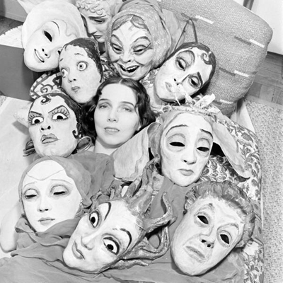 Nina Leen - Mask Dances (Margaret Severn)