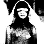 Josiane Keller - Alice with black and white veil