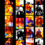 Josiane Keller - contact sheet family visit