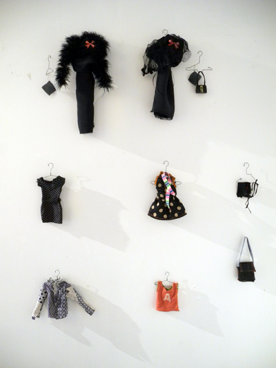 Josiane Keller - costume inventory left wall b - colour