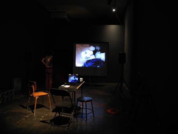 Josiane Keller - preparing slide-show at AUTOMATA 2