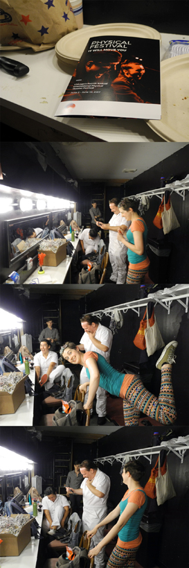 Josiane Keller - Physical Festival Chicago - Sequence C - dressing room at Stage 773
