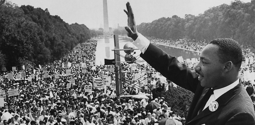 Martin Luther King, Jr. March on Washington, August 28th 1963