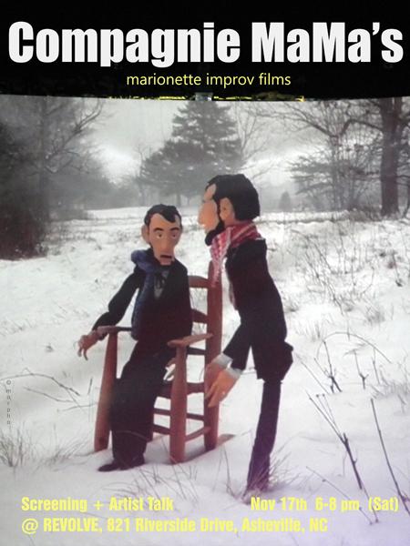 Compagnie MaMa's - poster REVOLVE