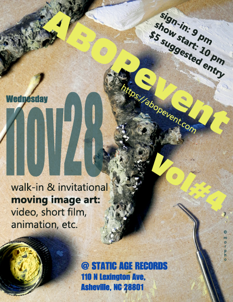 ABOPevent 4 - poster