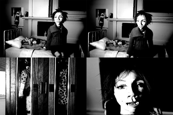 Josiane Keller - Edie in the flat - four stills