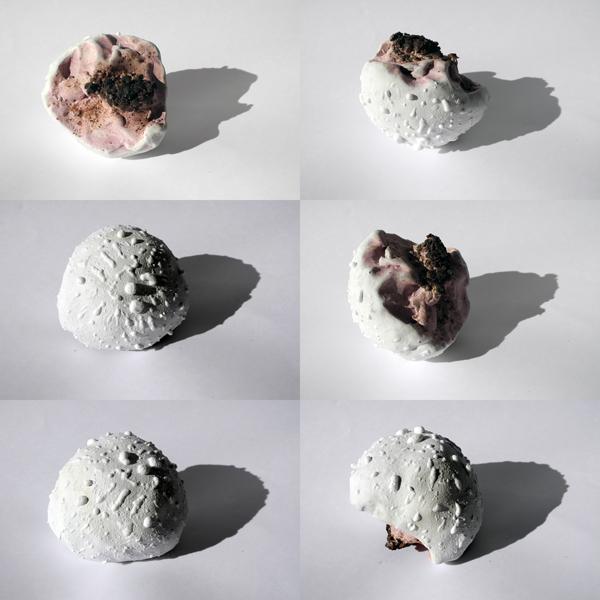 Josiane Keller - white mushroom - six times