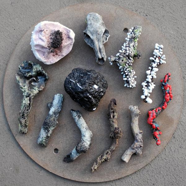 Josiane Keller - eleven small twigs and items